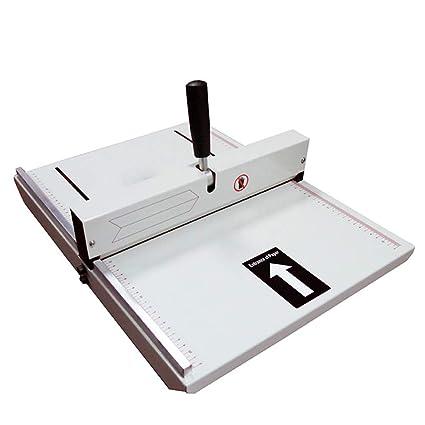A4 máquina de plegado 350 mm manual plegado máquina álbum cubierta ...