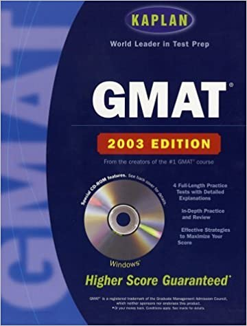 Book Kaplan GRE Exam 2003 with CD-ROM (Kaplan GRE Premier Program (W/CD)) by Kaplan (2002-07-02)