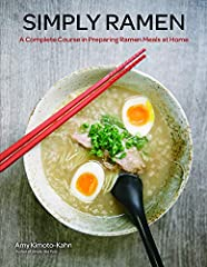 Whether you are cooking for one or twelve, Simply Ramen brings homemade ramen to your table with a delicious fusion of seventy recipes, including soup bases, noodles, toppings, and sides. Author Amy Kimoto-Kahn shows you how to put tog...