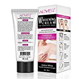Anself Intimate Bleaching Cream Skin Lightening Underarm Private Part Whitening Lip Pink Nipple Face Body Color Fading Product 60ml