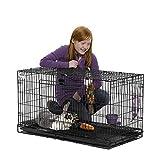 Midwest Wabbitat Folding Rabbit Cage
