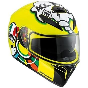Amazon.com: AGV K-3 SV Unisex-Adult Full-Face-Helmet-Style ...