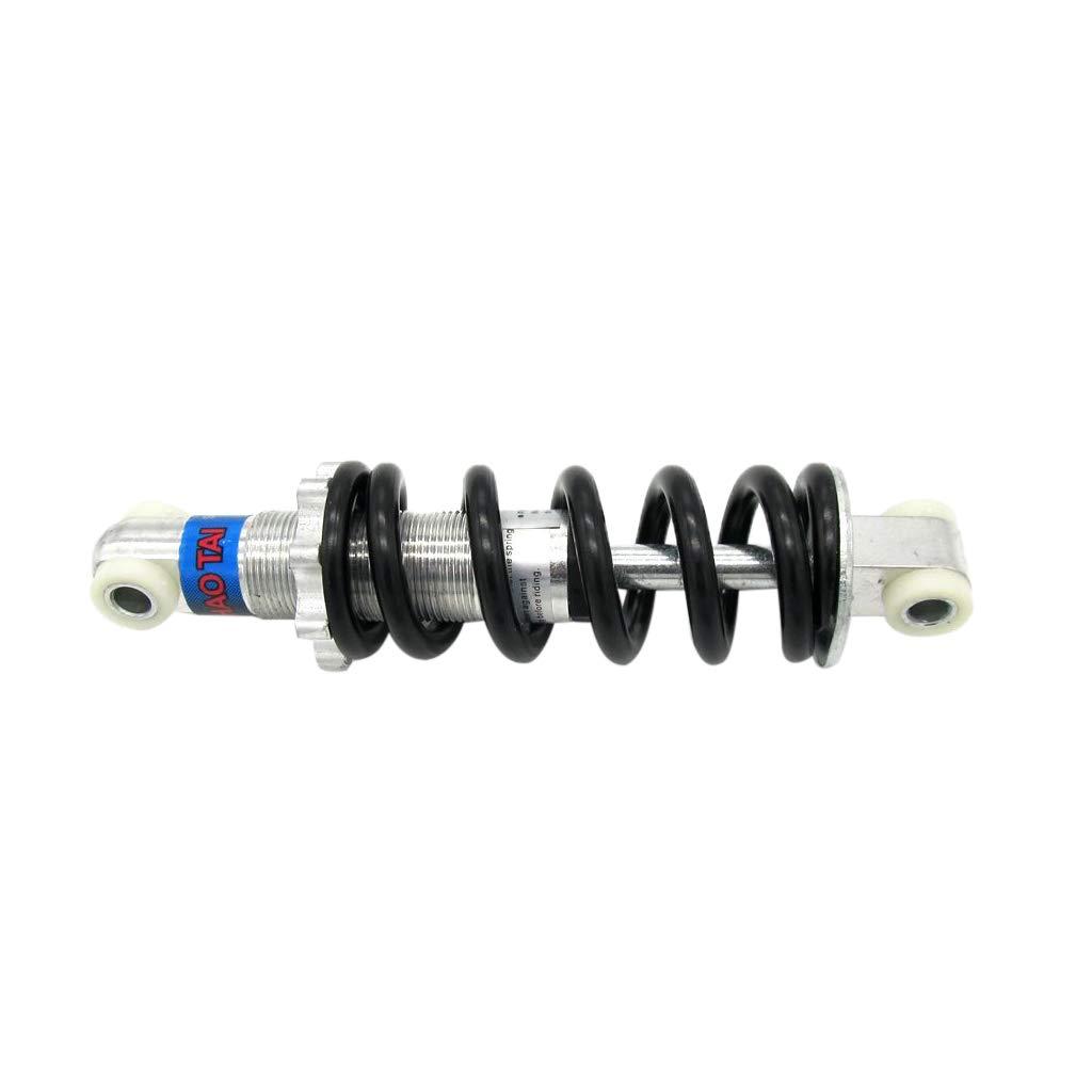 Black 2pcs 6.7 inch 170mm Rear Back Shock Absorbers Suspension for ATV Quad Buggy 4 Wheeler Mini Bike
