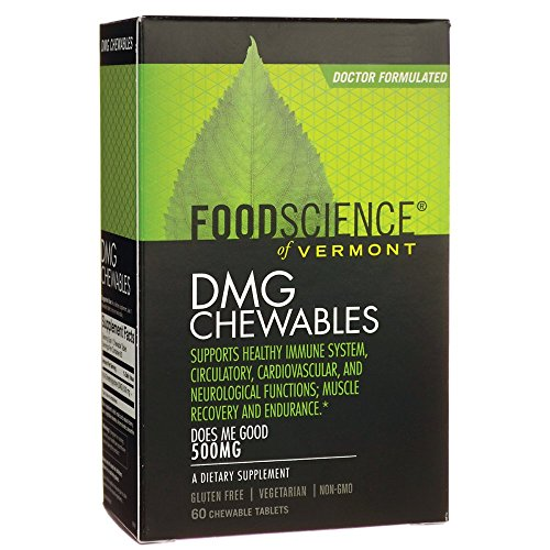 Food Science of Vermont DMG Chewables 500mg 60 Tablets