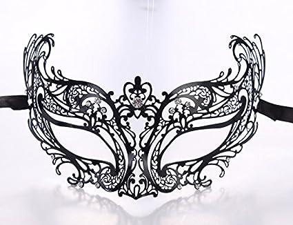 WITREE-Z Máscara de Venecia, la mitad enfrentó metal iron mask, Halloween Costume