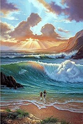 "Jim Warren Painting; Limited Edition Lithograph by Award Winning Artist Jim Warren featuring his Original work ""Worlds Romantic Day""."