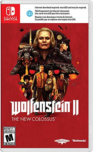 Amazon.com: Wolfenstein II: The New Colossus - Nintendo ...