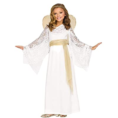 Fun World Angelic Maiden Child Costume: Toys & Games