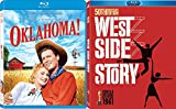 American Musicals Oklahoma Blu Ray + DVD The West Side Story Set Movie Double Feature Bundle