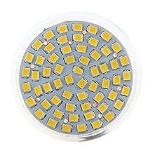 SODIAL(R)MR16 GU5,3 60 LED 3528 SMD 3W SPOT LIGHT BULB warm white 12V