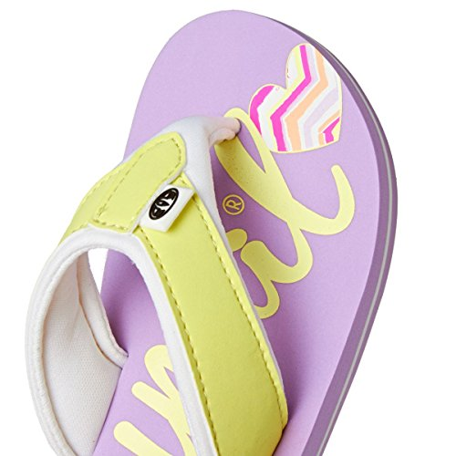 Animal Kinder Sandalen Swish Logo Sandals Girls Lilac Purple