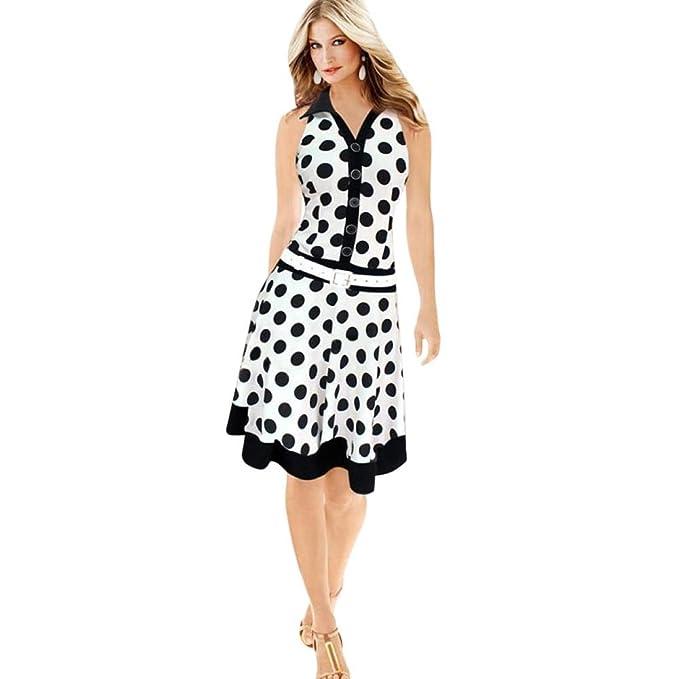 SmrBeauty Vestito Donna Elegante 9b5c52f4883