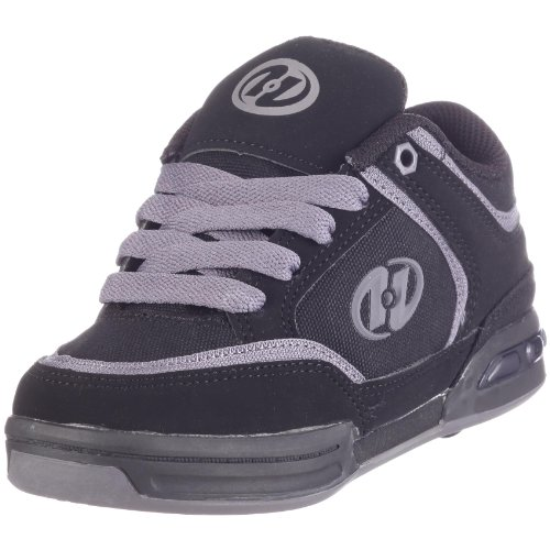 Heelys FIERCE 7617, Unisex-Kinder, Sneaker Schwarz (Black/Charcoal)