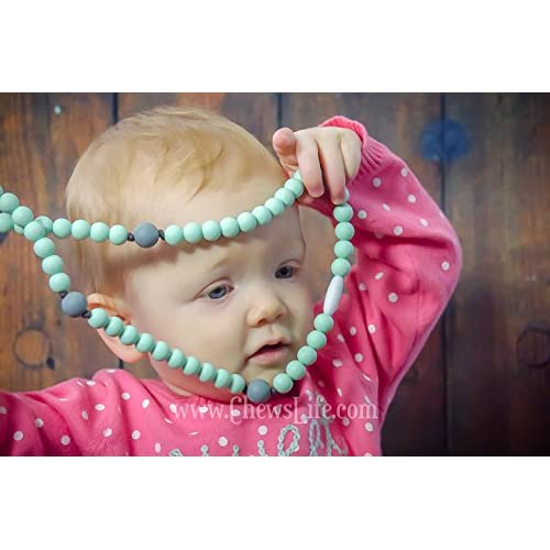 Baby Boy or Girl Baptism or Mass Toy Chews Life Pink Rosary Silicone Teething Rosary