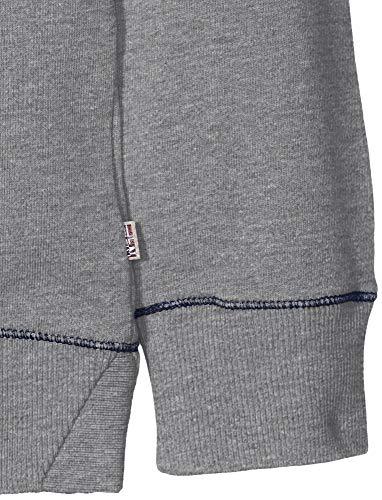 Napapijri Grey Garçon Banak shirt Sweat 160 med Gris Mel pWrHOpqTw