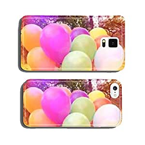 Colorful balloons at a party cell phone cover case Samsung S5