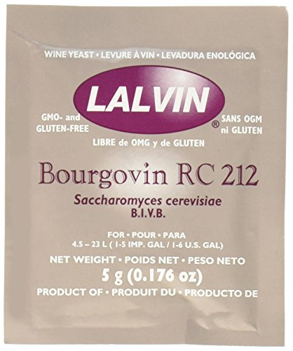 Price comparison product image Bourgovin RC-212 (10 Packs) Wine Yeast