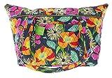 Vera Bradley Miller Bag Duffle Bag Shoulder Bag in Jazzy Blooms For Sale