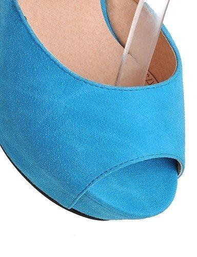 Peep Blue Heels Platform Black Toe Outdoor ShangYi Heels Shoes Almond Dress Heel Women's CasualBlack Wedges Sandals q0OIXw