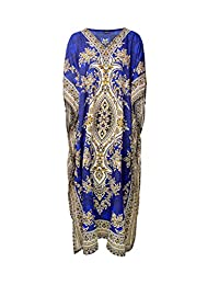 RK Essentials | Tribal Ethnic Print Long Kaftan | Plus Size