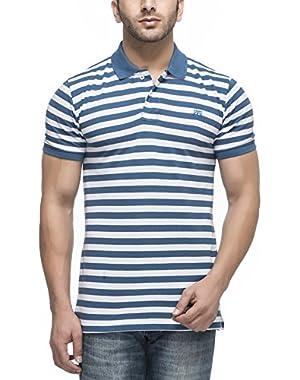 Men's Cotton Blend Polo T-Shirt