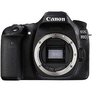Canon EOS 80D 24.2MP Digital SLR Camera (Black) Body + Memory Card 11