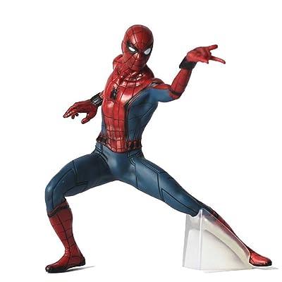 Spider-Man Model Toy - Marvel Avengers Spider-Man Figura de acción - Hero Return 7-Inch / 19cm Infinity War Toys - Colección de Regalos de cumpleaños for niños: Juguetes y juegos