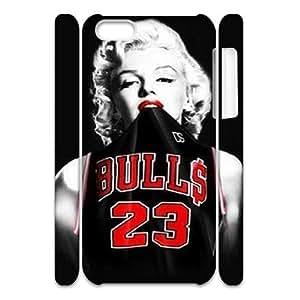Michael Jordan Unique Design 3D Cover Case for Iphone 5C,custom cover case ygtg-689076