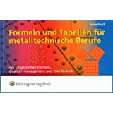 Formeln und Tabellen für metalltechnische Berufe