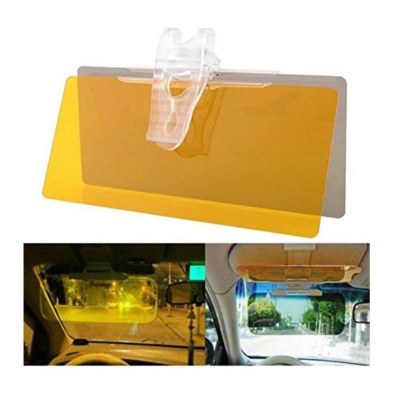 Retailshopping New HD Vision Visor Car Anti-Glare Dazzling Mirror Day Night Driving Mirror Sun Visors Car Interior Roof