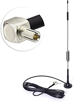 Eightwood Antena 4G LTE TS9 Omni Directionale Amplificador de señal Antena con Base magnética para enrutadores 4G LTE WiFi Hotspots móviles