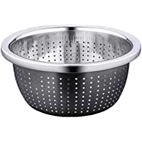 Fine Micro Mesh Colander Stainless Strainer Cooking Infusers Filters for Kitchen Food 10inch 26cm TPKJ67198
