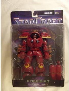 Starcraft Series One FIREBAT Terran Assalt Trooper by StarCraft: Amazon.es: Juguetes y juegos
