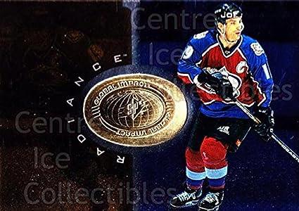 CI Joe Sakic Hockey Card 1998 99 SPx Finite Radiance 92
