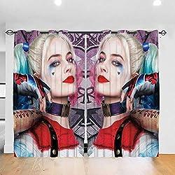 51AraNVq0fL._AC_UL250_SR250,250_ Harley Quinn  Curtains