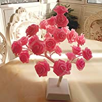 Bolylight Rose Flower Lamp Night