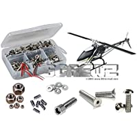 RCScrewZ Thunder Tiger E325 V2 Heli Stainless Steel Screw Kit #thu035