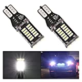 Melcan 1000 lumens Extremely Bright Error Free 921 912 W16W LED Bulb High Power 4014 30-SMD LED Bulbs For Backup Reverse Lights Lamps Replacement Xenon White