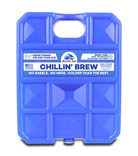 Arctic Ice Chillin Brew Series Reusable Cooler Pack, 1.5-Pound