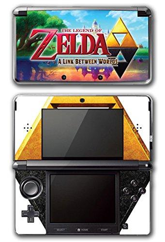 Legend of Zelda Link A Link Between Worlds Triforce Video Game Vinyl Decal Skin Sticker Cover for Original Nintendo 3DS System