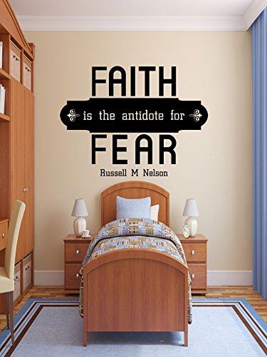 Faith Wall Decals Vinyl Quote Decor