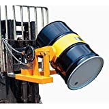 1500 Lb. Capacity Forklift Tilting Drum Dumper