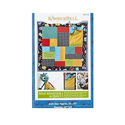 Amazon Kimberbell Kids Mini Monster Quilt Pattern By Kimberbell