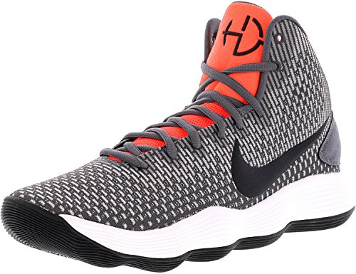 Nike Men's Hyperdunk 2017 Basketball Shoe Dark Greyblackbright Crimson Size 11 M Us