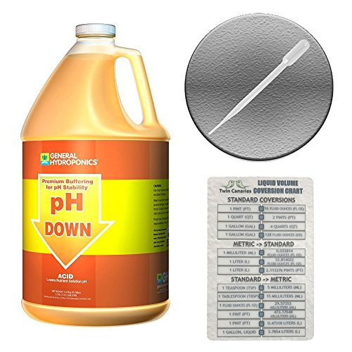 general-hydroponic-ph-down-concentrated-acid-solution-liquid-pipette-twin-canaries-chart-1-fluid-gal