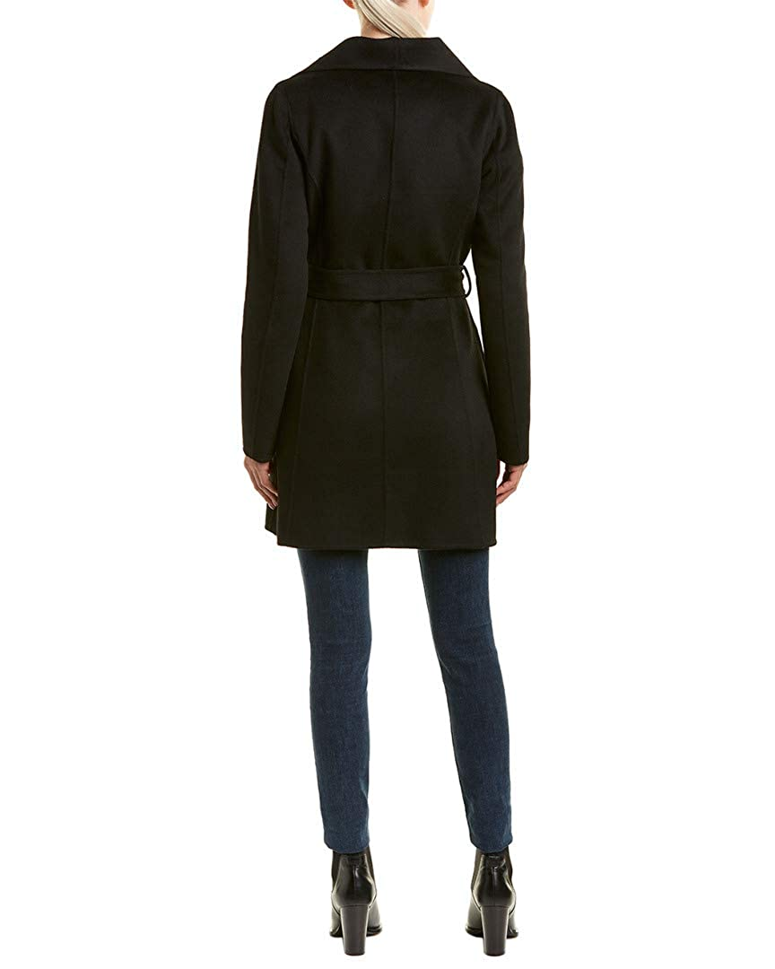 T Tahari Ella Coat Black XS