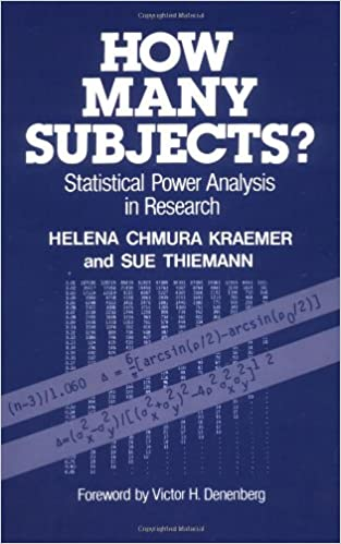 Statistical Power Analysis In Research (9780803929494): Helena Chmura  Kraemer, Sue Thiemann: Books