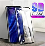 Designerz Hub 6D Tempered Glass (Black) - 9H Full Glue Full HD, Shatterproof, Anti Scratch Screen Guard for Honor 20i