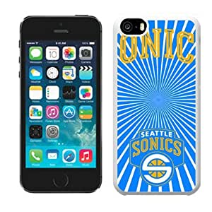 NBA Seattle Supersonics Iphone 5c Cover Case Hot For NBA Fans By zeroCase
