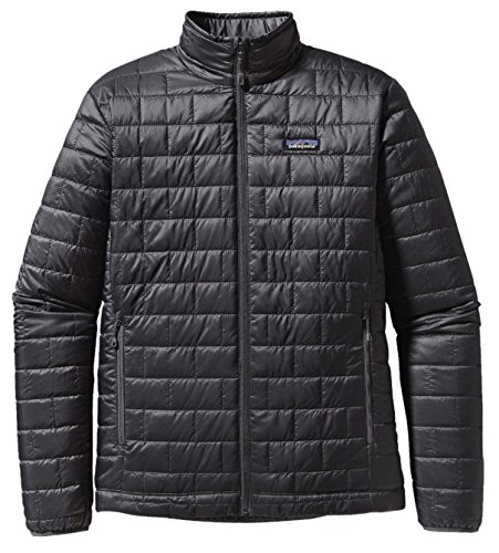 Patagonia Nano Puff Coat (Small, Forge Grey)